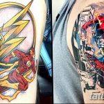 Фото тату комиксы супергерои от 03.09.2018 №055 - tattoos comics superher - tatufoto.com