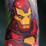 Фото тату комиксы супергерои от 03.09.2018 №069 - tattoos comics superher - tatufoto.com