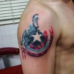 Фото тату комиксы супергерои от 03.09.2018 №072 - tattoos comics superher - tatufoto.com