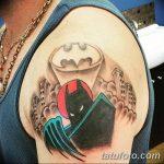 Фото тату комиксы супергерои от 03.09.2018 №080 - tattoos comics superher - tatufoto.com