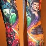 Фото тату комиксы супергерои от 03.09.2018 №083 - tattoos comics superher - tatufoto.com