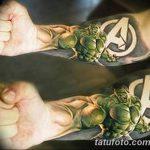 Фото тату комиксы супергерои от 03.09.2018 №090 - tattoos comics superher - tatufoto.com