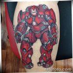 Фото тату комиксы супергерои от 03.09.2018 №093 - tattoos comics superher - tatufoto.com