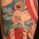Фото тату комиксы супергерои от 03.09.2018 №098 - tattoos comics superher - tatufoto.com