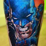 Фото тату комиксы супергерои от 03.09.2018 №103 - tattoos comics superher - tatufoto.com