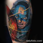 Фото тату комиксы супергерои от 03.09.2018 №104 - tattoos comics superher - tatufoto.com