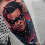 Фото тату комиксы супергерои от 03.09.2018 №106 - tattoos comics superher - tatufoto.com