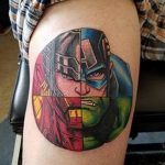 Фото тату комиксы супергерои от 03.09.2018 №107 - tattoos comics superher - tatufoto.com