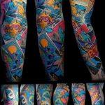 Фото тату комиксы супергерои от 03.09.2018 №108 - tattoos comics superher - tatufoto.com