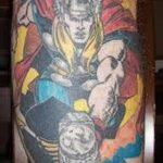 Фото тату комиксы супергерои от 03.09.2018 №111 - tattoos comics superher - tatufoto.com