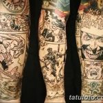 Фото тату комиксы супергерои от 03.09.2018 №112 - tattoos comics superher - tatufoto.com