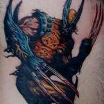 Фото тату комиксы супергерои от 03.09.2018 №114 - tattoos comics superher - tatufoto.com