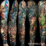 Фото тату комиксы супергерои от 03.09.2018 №117 - tattoos comics superher - tatufoto.com