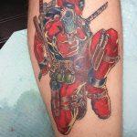 Фото тату комиксы супергерои от 03.09.2018 №119 - tattoos comics superher - tatufoto.com