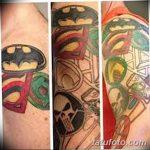 Фото тату комиксы супергерои от 03.09.2018 №121 - tattoos comics superher - tatufoto.com