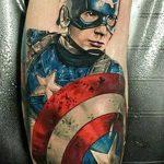 Фото тату комиксы супергерои от 03.09.2018 №131 - tattoos comics superher - tatufoto.com