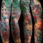 Фото тату комиксы супергерои от 03.09.2018 №133 - tattoos comics superher - tatufoto.com