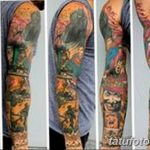 Фото тату комиксы супергерои от 03.09.2018 №134 - tattoos comics superher - tatufoto.com