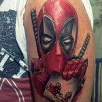 Фото тату комиксы супергерои от 03.09.2018 №136 - tattoos comics superher - tatufoto.com