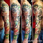 Фото тату комиксы супергерои от 03.09.2018 №139 - tattoos comics superher - tatufoto.com