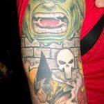Фото тату комиксы супергерои от 03.09.2018 №146 - tattoos comics superher - tatufoto.com