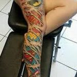 Фото тату комиксы супергерои от 03.09.2018 №147 - tattoos comics superher - tatufoto.com