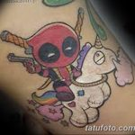 Фото тату комиксы супергерои от 03.09.2018 №150 - tattoos comics superher - tatufoto.com