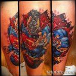 Фото тату комиксы супергерои от 03.09.2018 №152 - tattoos comics superher - tatufoto.com