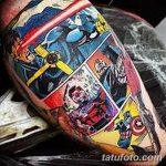 Фото тату комиксы супергерои от 03.09.2018 №156 - tattoos comics superher - tatufoto.com