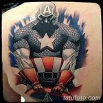 Фото тату комиксы супергерои от 03.09.2018 №162 - tattoos comics superher - tatufoto.com