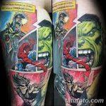 Фото тату комиксы супергерои от 03.09.2018 №164 - tattoos comics superher - tatufoto.com