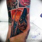 Фото тату комиксы супергерои от 03.09.2018 №170 - tattoos comics superher - tatufoto.com