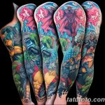 Фото тату комиксы супергерои от 03.09.2018 №171 - tattoos comics superher - tatufoto.com