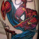 Фото тату комиксы супергерои от 03.09.2018 №174 - tattoos comics superher - tatufoto.com
