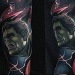 Фото тату комиксы супергерои от 03.09.2018 №175 - tattoos comics superher - tatufoto.com