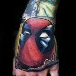 Фото тату комиксы супергерои от 03.09.2018 №176 - tattoos comics superher - tatufoto.com