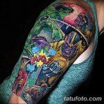 Фото тату комиксы супергерои от 03.09.2018 №181 - tattoos comics superher - tatufoto.com