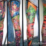 Фото тату комиксы супергерои от 03.09.2018 №187 - tattoos comics superher - tatufoto.com