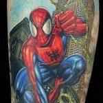 Фото тату комиксы супергерои от 03.09.2018 №188 - tattoos comics superher - tatufoto.com