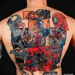 Фото тату комиксы супергерои от 03.09.2018 №189 - tattoos comics superher - tatufoto.com