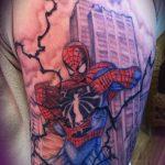 Фото тату комиксы супергерои от 03.09.2018 №190 - tattoos comics superher - tatufoto.com