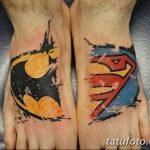 Фото тату комиксы супергерои от 03.09.2018 №198 - tattoos comics superher - tatufoto.com