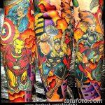 Фото тату комиксы супергерои от 03.09.2018 №202 - tattoos comics superher - tatufoto.com