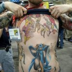 Фото тату комиксы супергерои от 03.09.2018 №203 - tattoos comics superher - tatufoto.com