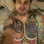 Фото тату комиксы супергерои от 03.09.2018 №206 - tattoos comics superher - tatufoto.com