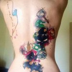 Фото тату комиксы супергерои от 03.09.2018 №207 - tattoos comics superher - tatufoto.com