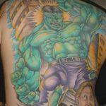 Фото тату комиксы супергерои от 03.09.2018 №213 - tattoos comics superher - tatufoto.com