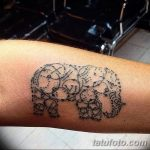 Фото тату контур от 01.09.2018 №002 - Photo tattoo outline - tatufoto.com