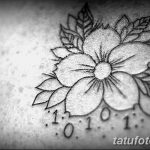 Фото тату контур от 01.09.2018 №010 - Photo tattoo outline - tatufoto.com