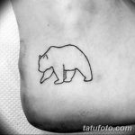 Фото тату контур от 01.09.2018 №018 - Photo tattoo outline - tatufoto.com